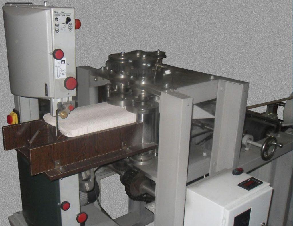 Для производства салфеток необходимо приобрести специально оборудование