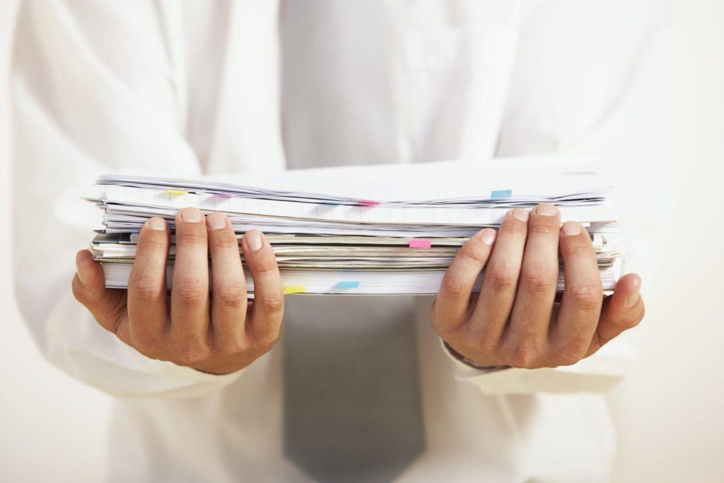 Открытие бизнеса требует сбора документов