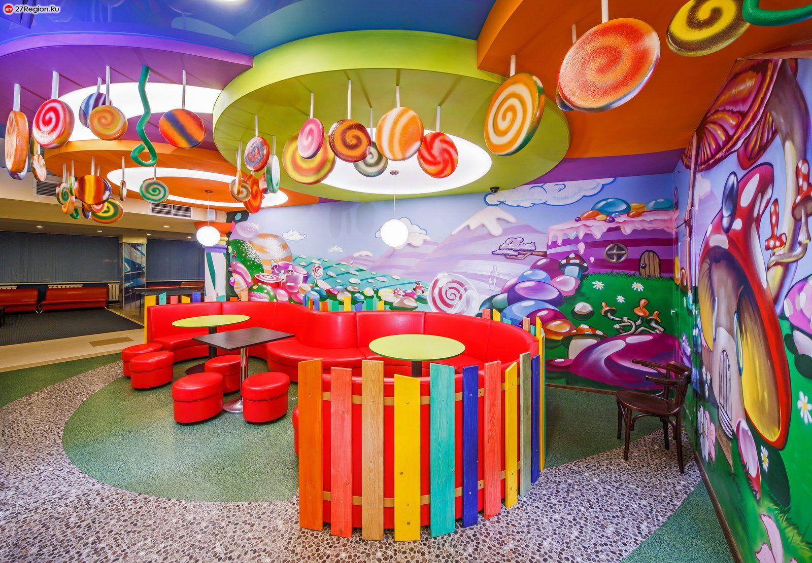 Дизайн интерьера кафе в Москве: заказать услуги дизайна