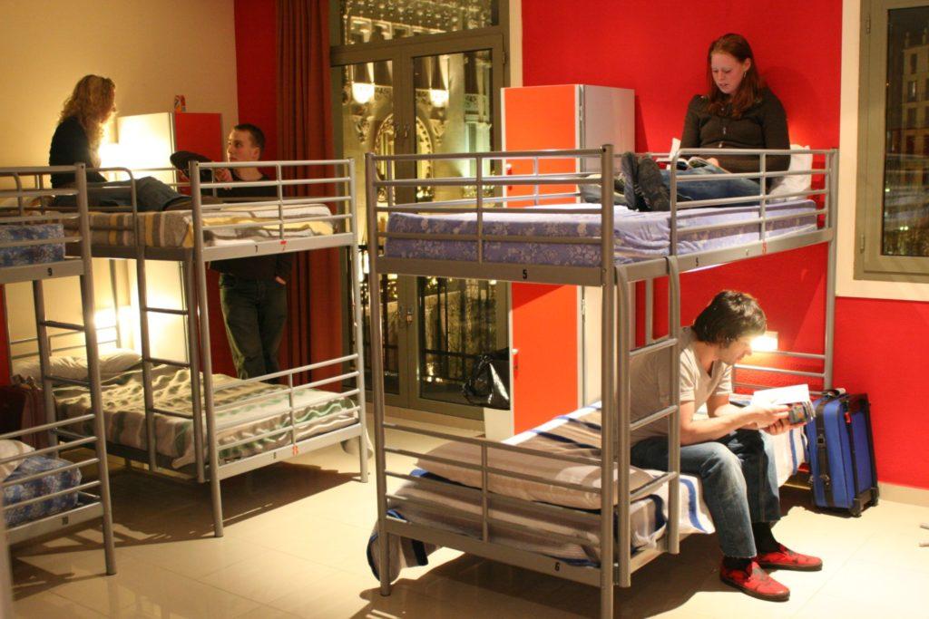Основные постояльцы хостела - молодежь
