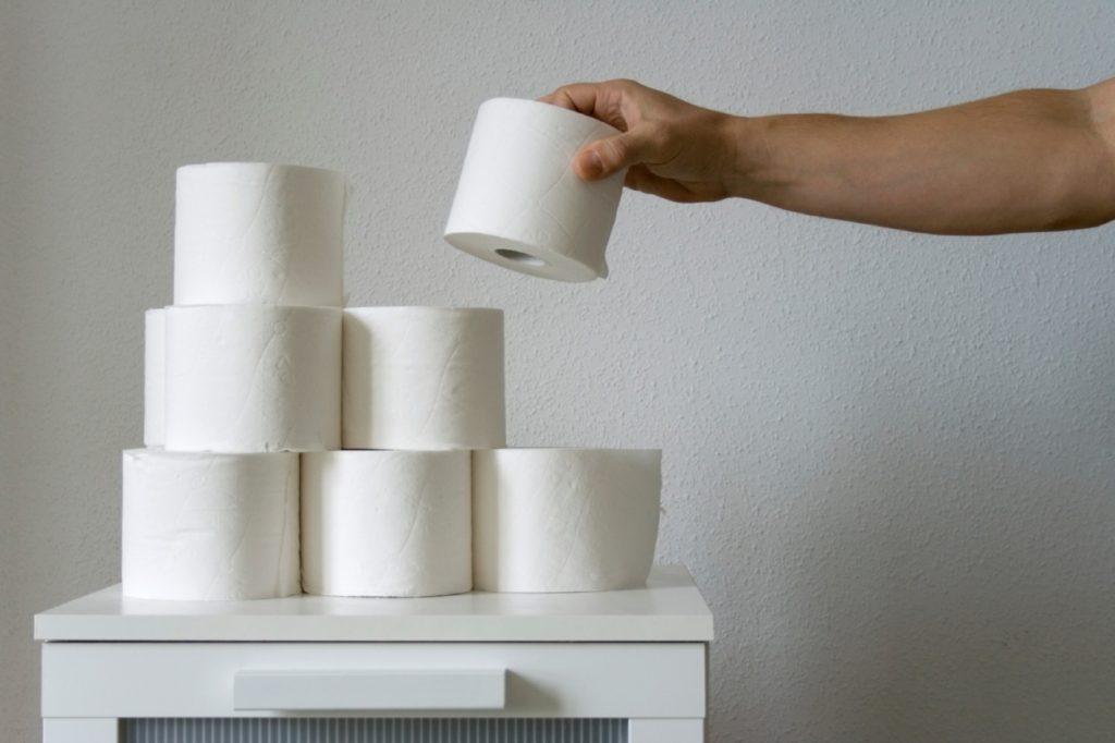 Туалетная бумага - весьма ходовой товар