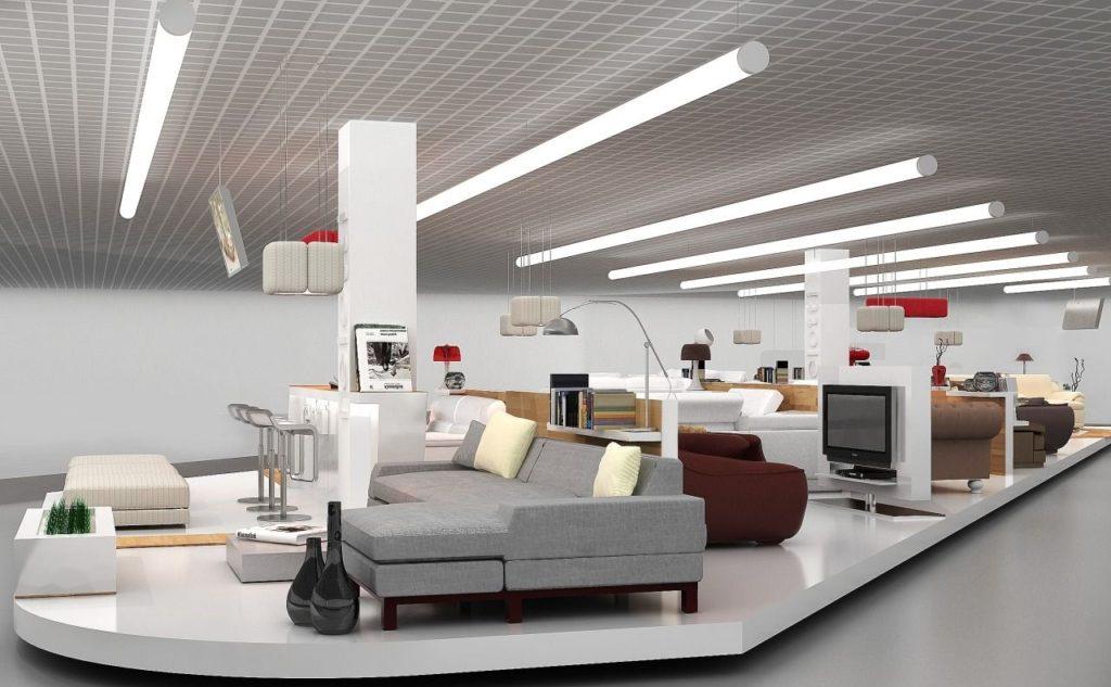 С форматом мебельного магазина необходимо определиться до его открытия