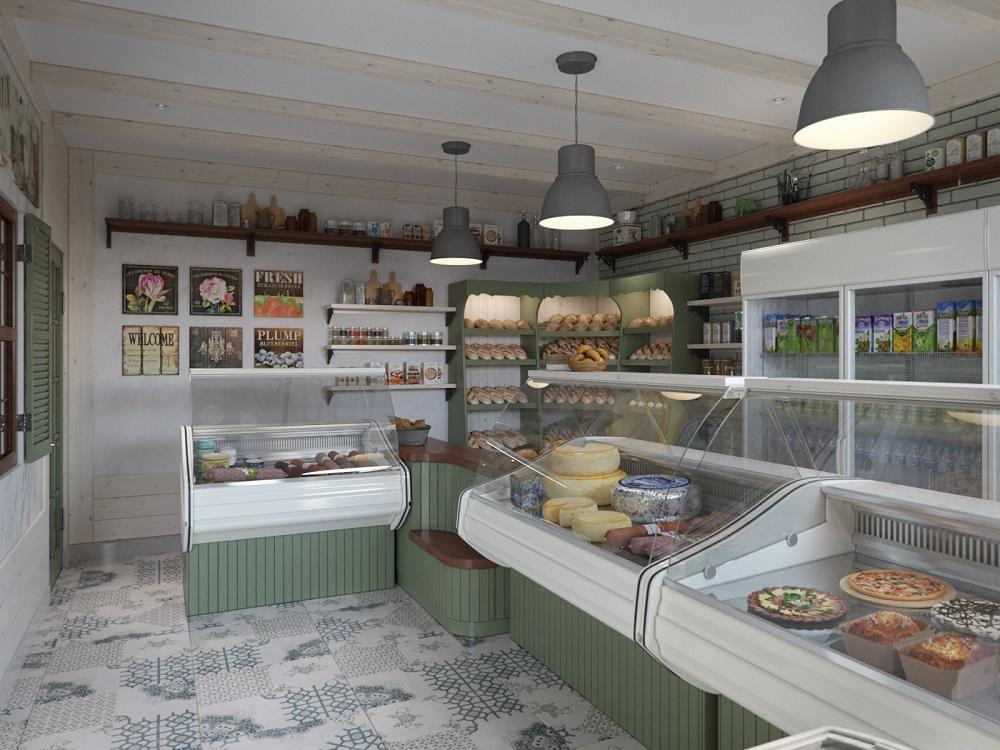 Небольшой продовольственный магазин всегда будет иметь клиентов