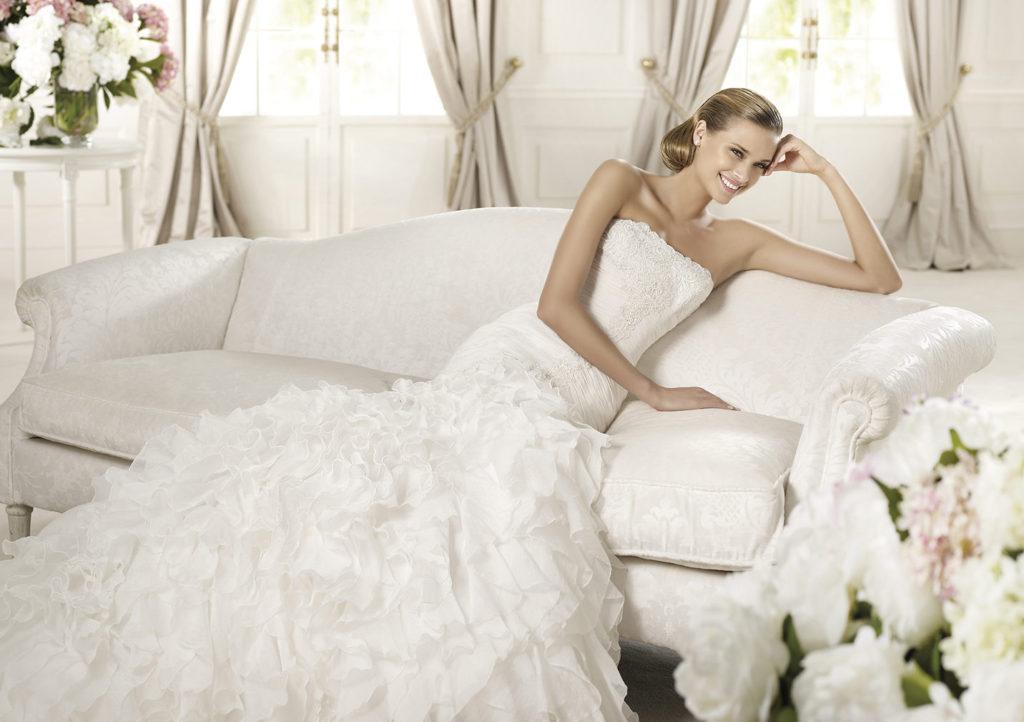 Свадебный салон нужно размещать в местах с высокой проходимостью