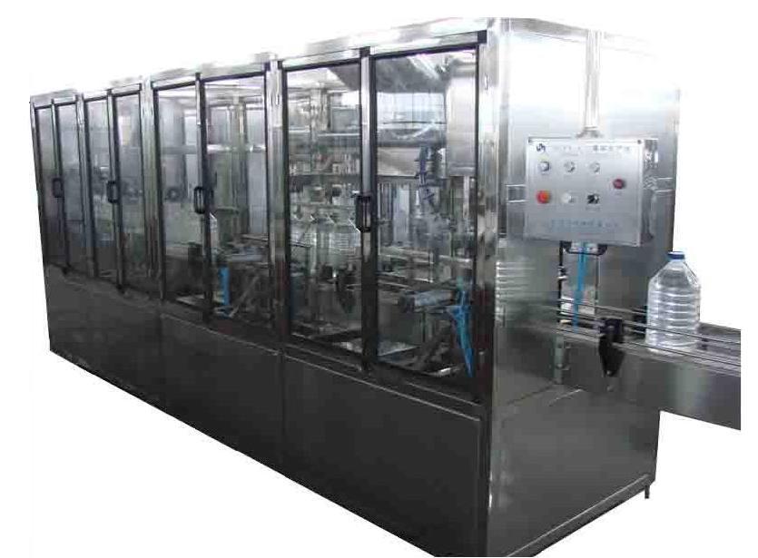 Оборудование для розлива воды в бутылки